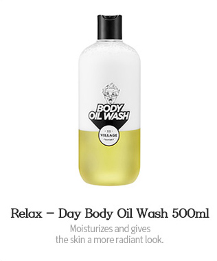 Relax - Day Body Oil Wash 500ml