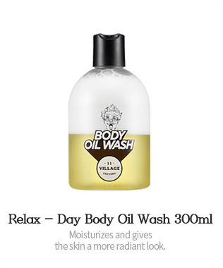 Relax - Day Body Oil Wash 300ml