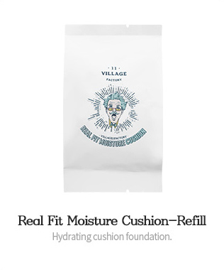 Real Fit Moisture Cushion-Refill