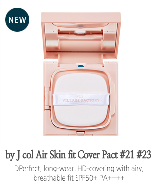 by J col Air Skin fit Cover Pact #21 #23